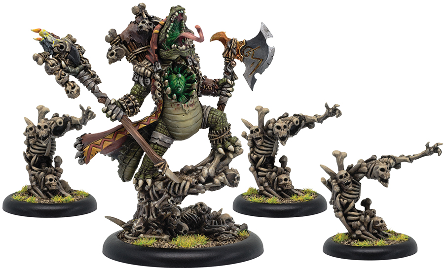 Hordes: Minions Barnabas, Lord Of Blood Epic Warlock Unit (4) (resin/white Metal) Box Front