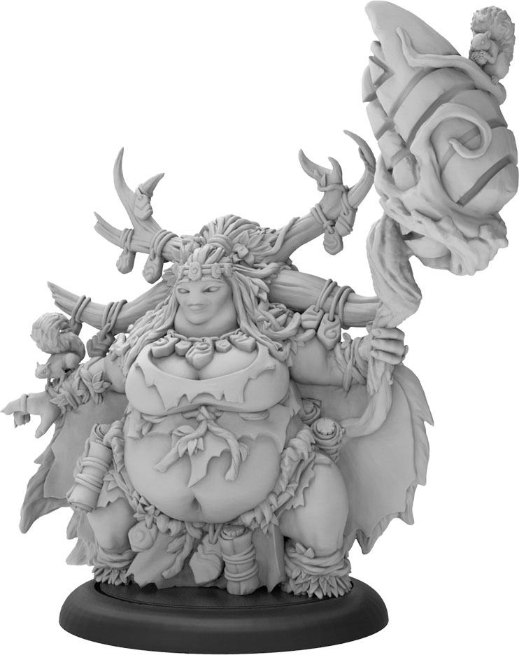 Hordes: Minions Dhunian Archon Archon Solo  (resin And White Metal) Game Box