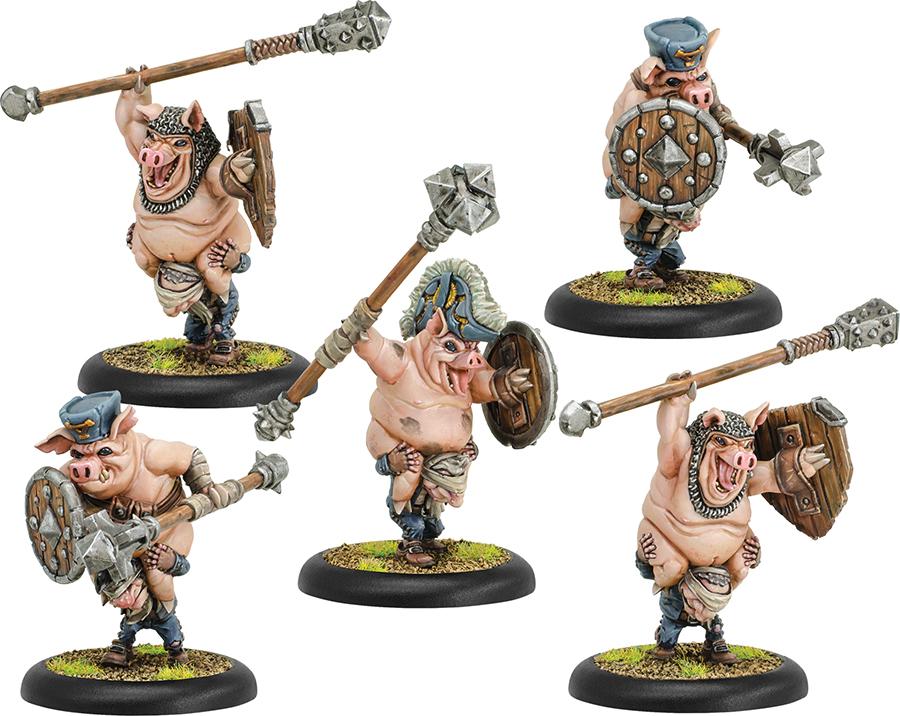 Hordes: Grymkin Piggybacks Unit (plastic) Box Front