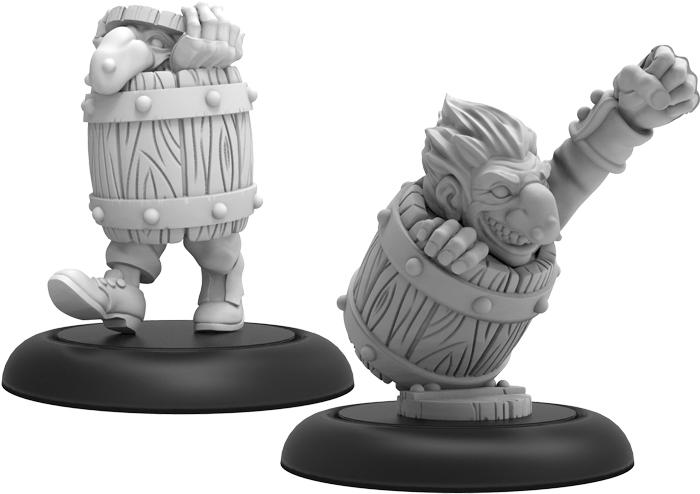 Hordes: Grymkin Cask Imp Solo (resin) Box Front