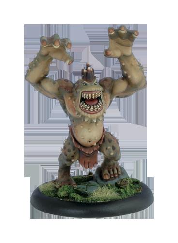 Iron Kingdoms Full Metal Fantasy Rpg: Bridge Troll (white Metal) Box Front