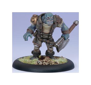 Iron Kingdoms Full Metal Fantasy Rpg: Trollkin Adventurer (white Metal) Box Front