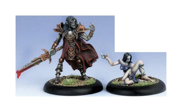 Iron Kingdoms Full Metal Fantasy Rpg: Lord Vyros And Sythis (white Metal) Box Front