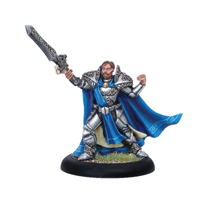 Iron Kingdoms Full Metal Fantasy Rpg: Prince Leto Raelthorne (white Metal) Box Front