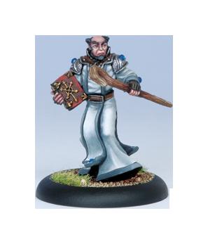 Iron Kingdoms Full Metal Fantasy Rpg: Father Pandor Dumas (white Metal) Box Front