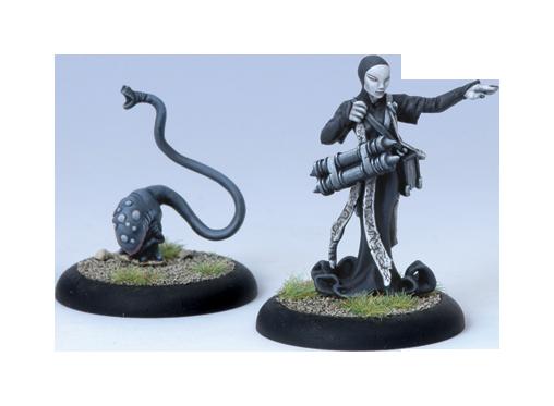 Iron Kingdoms Full Metal Fantasy Rpg: Curator And Infernal Discerning Beast (white Metal) Box Front