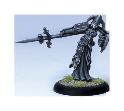 Iron Kingdoms Full Metal Fantasy Rpg: Umbral Warrior (white Metal) Box Front