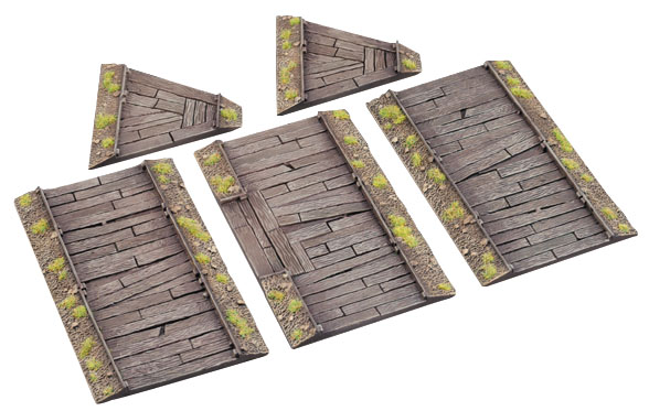 Warmachine And Hordes: Battlefield Accessory - Forward Trenches (plastic) Box Front