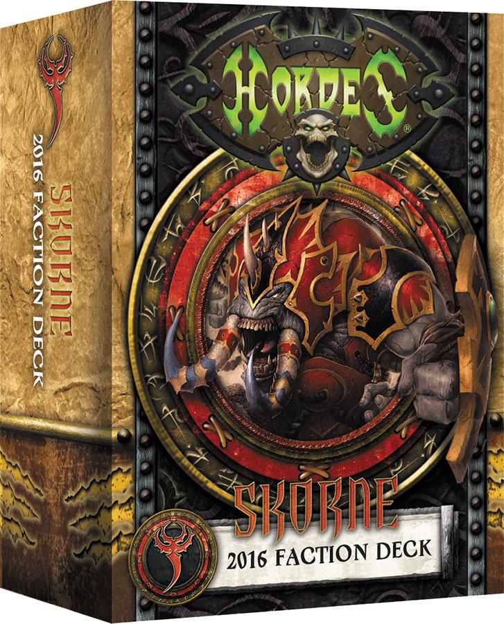 Hordes: Skorne 2016 Faction Deck Box Front