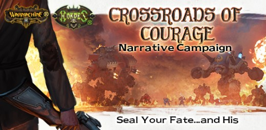 Warmachine And Hordes: Crossroads Of Courage Season 3 Core Kit Box Front