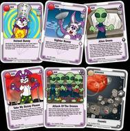 Killer Bunnies And The Ultimate Odyssey: Deadly Aliens Elementals Expansion D Box Front