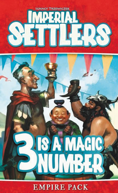Imperial Settlers: 3 Is A Magic Number Expansion Box Front
