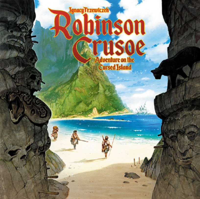 Robinson Crusoe: Adventures Of The Cursed Island (2nd Edition) Box Front