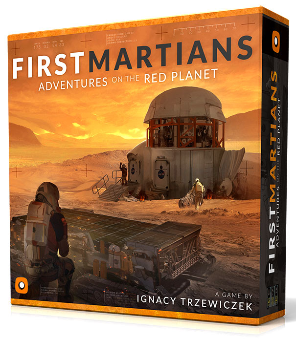 First Martians: Adventures On The Red Planet Box Front