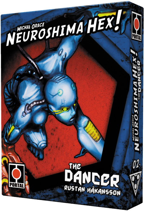 Neuroshima Hex 3.0: Dancer Expansion Box Front