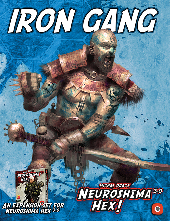 Neuroshima Hex 3.0: Iron Gang Expansion Box Front