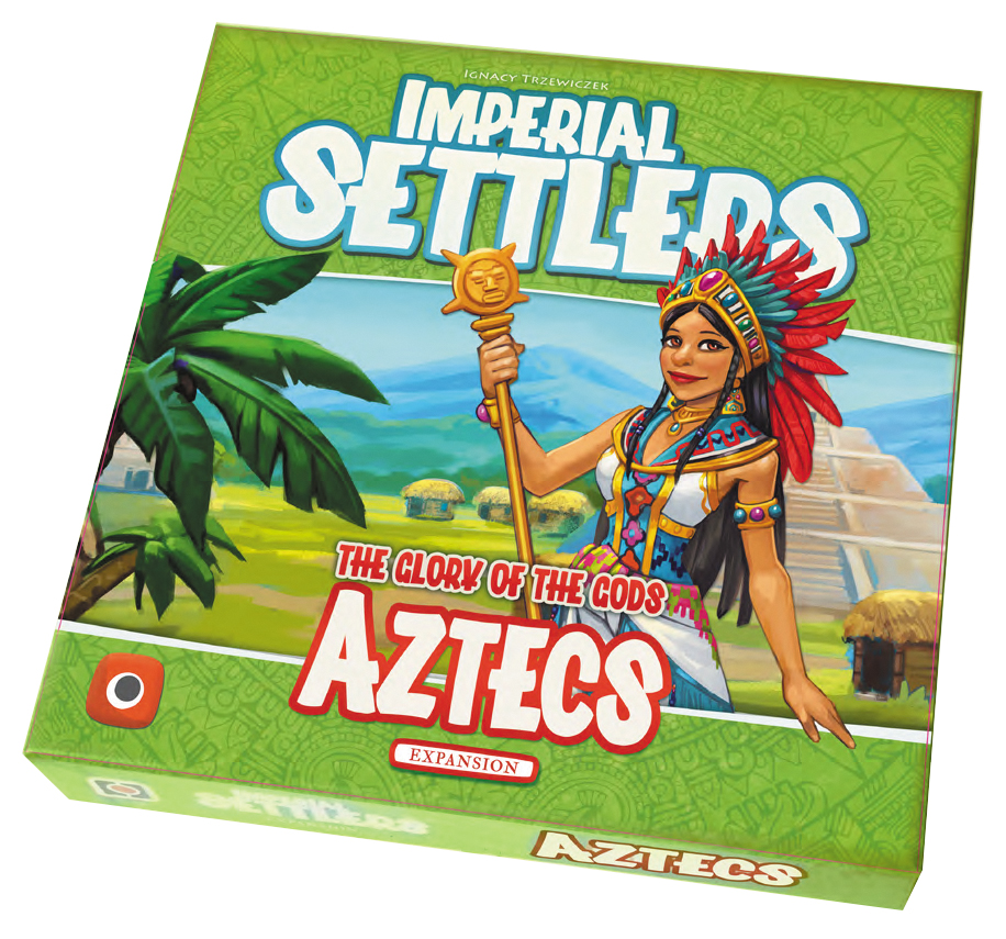 Imperial Settlers: Aztecs Expansion Box Front