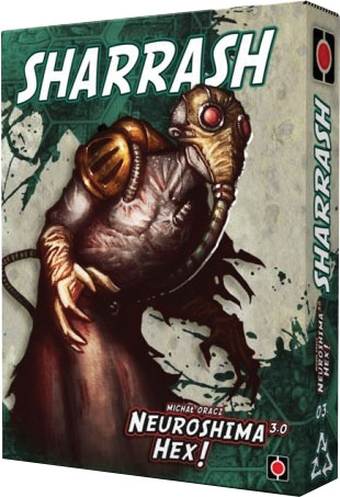 Neuroshima Hex: Sharrash Box Front