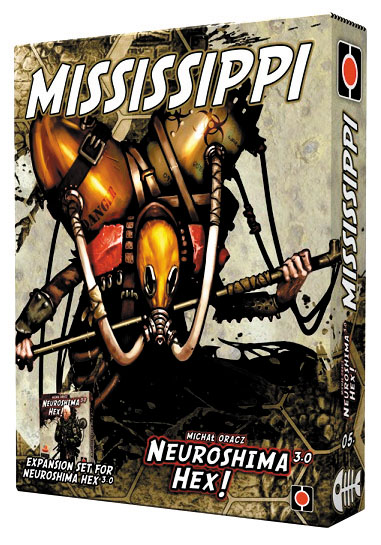 Neuroshima Hex 3.0: Mississippi Expansion Box Front