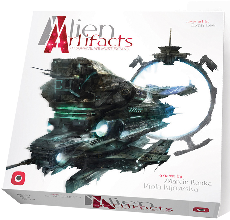 Alien Artifacts Box Front