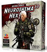 Neuroshima Hex 3.0 Box Front
