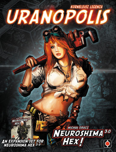 Neuroshima Hex 3.0: Uranopolis Expansion Box Front
