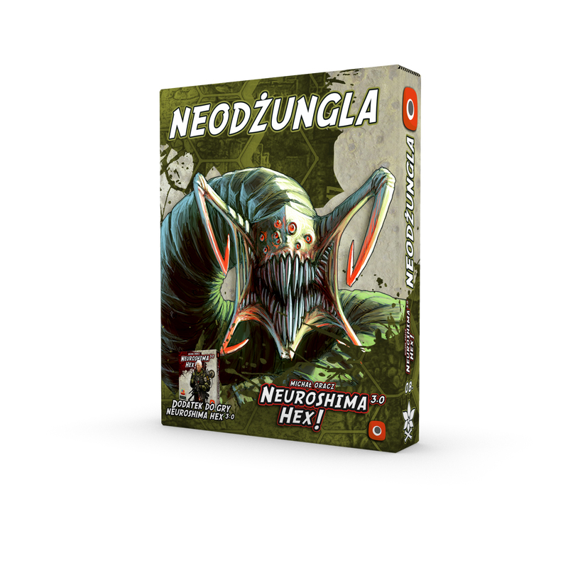 Neuroshima Hex: Neojungle Box Front