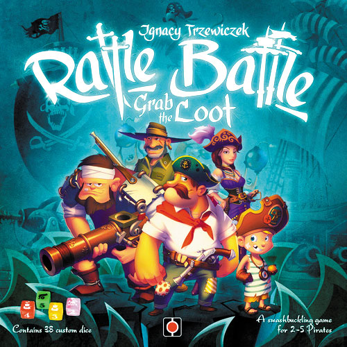 Rattle Battle Grab The Loot Box Front