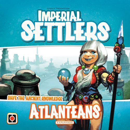 Imperial Settlers: Atlanteans Expansion Box Front