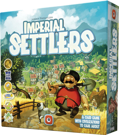 Imperial Settlers: We Didn`t Start Fire Empire Pack Expansion Box Front