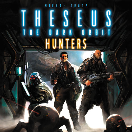 Theseus: The Dark Orbit - Hunters Expansion Box Front