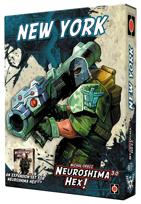 Neuroshima Hex: New York Expansion Box Front