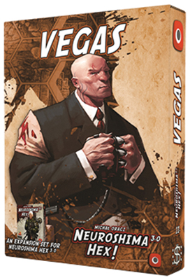 Neuroshima Hex 3.0: Vegas Expansion Box Front