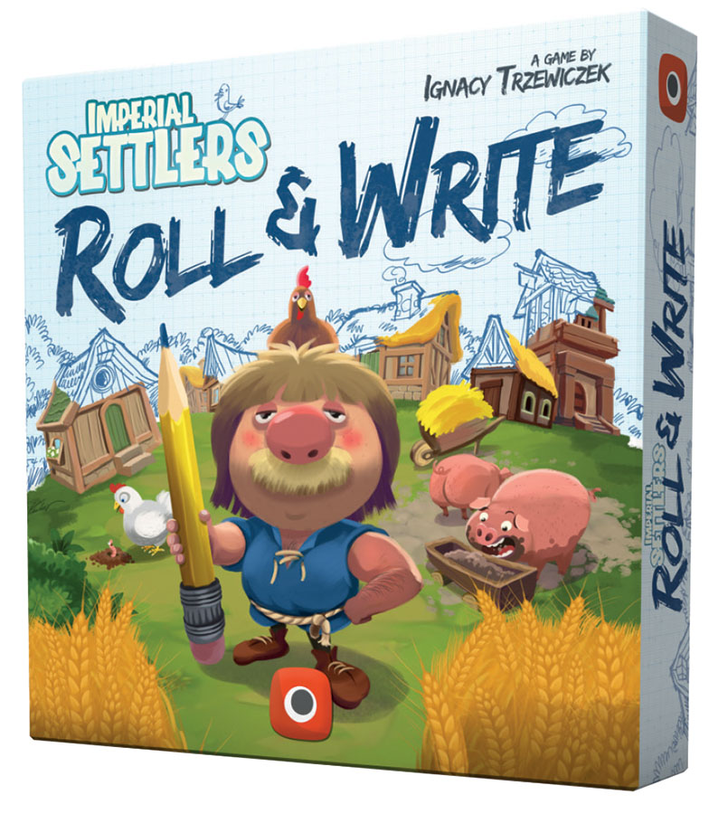 Imperial Settlers: Roll And Write Game Box