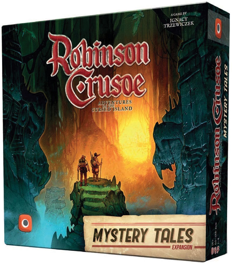 Robinson Crusoe Mystery Tales Game Box