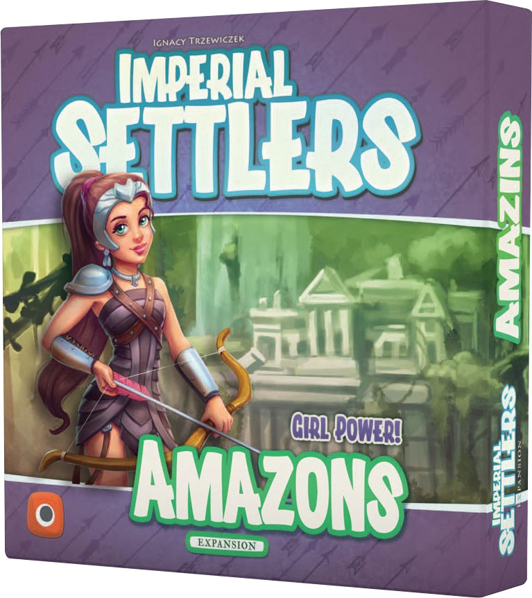 Imperial Settlers: Amazons Game Box