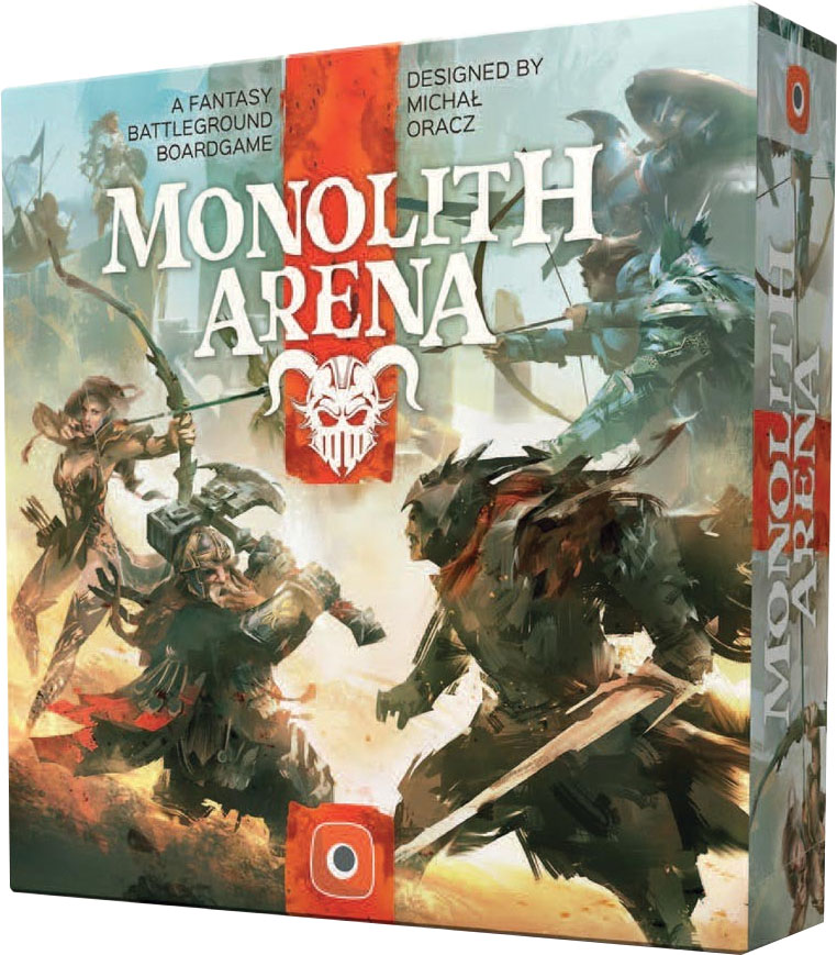Monolith Arena Game Box
