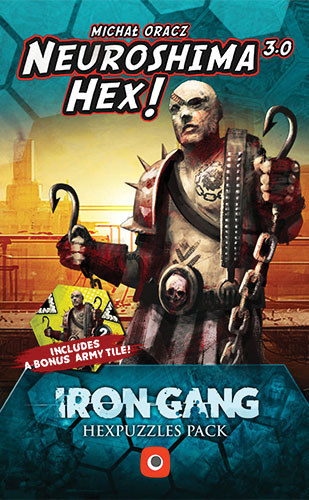 Neuroshima Hex: Iron Gang Puzzle Box Front