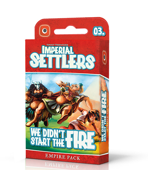 Imperial Settlers: We Didn`t Start Fire Launch Kit Box Front