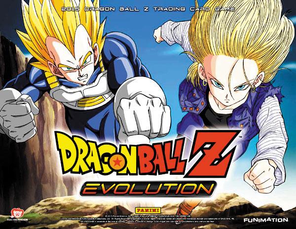 Dragon Ball Z Evolution 2015 Starter Display (10) Box Front