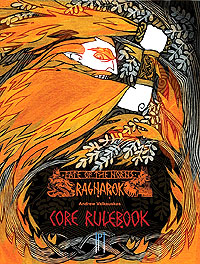 Fate Of The Norns Rpg: Ragnarok Core Rulebook Hc Box Front