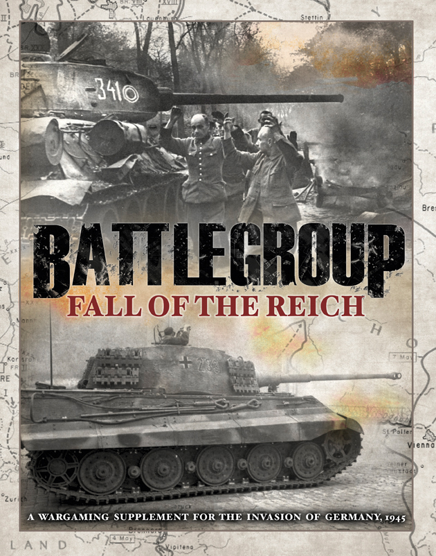 Battlegroup: Fall Of The Reich Box Front