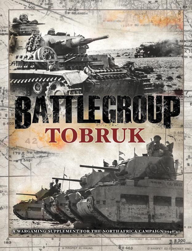 Battlegroup: Tobruk Box Front