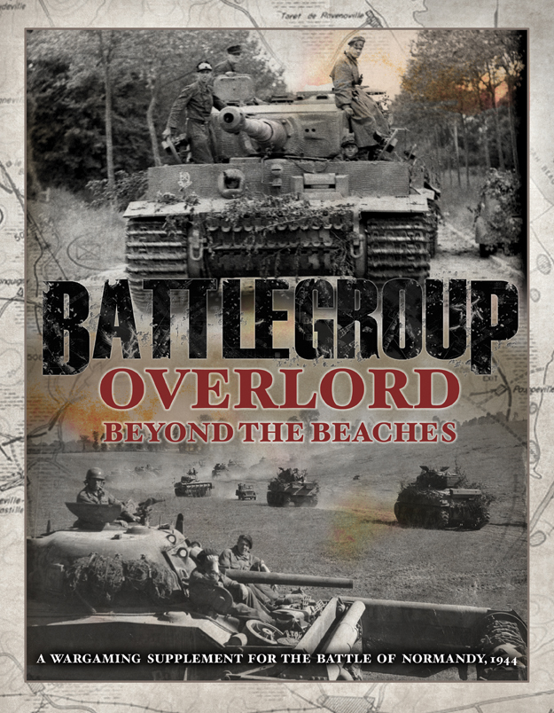 Battlegroup: Overlord - Beyond The Beaches Box Front