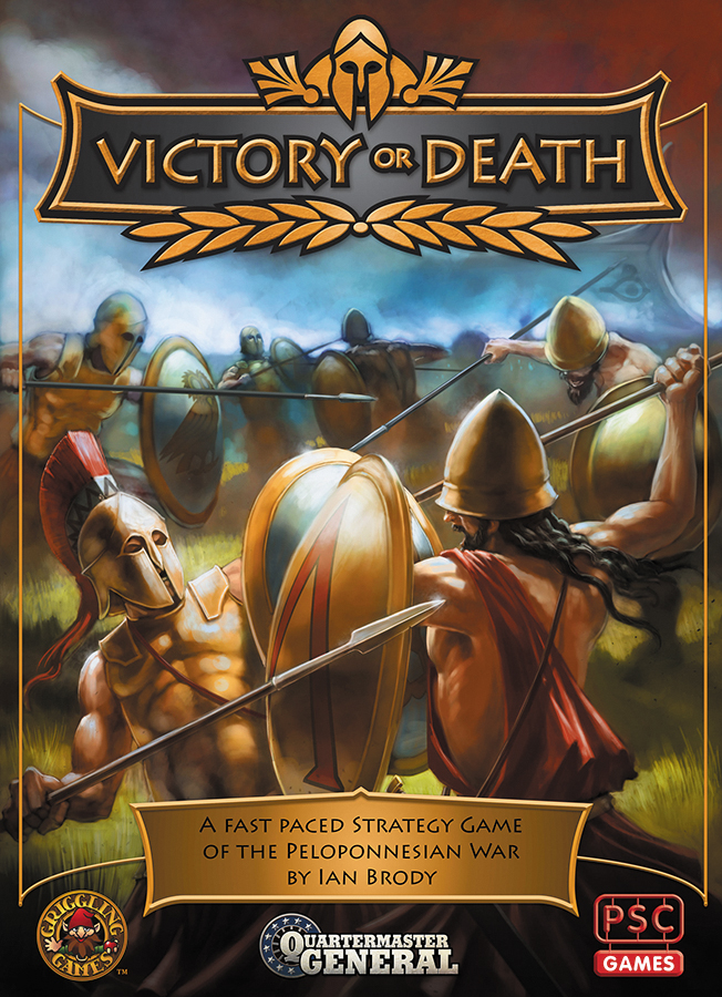 Quartermaster General: Victory Or Death Box Front