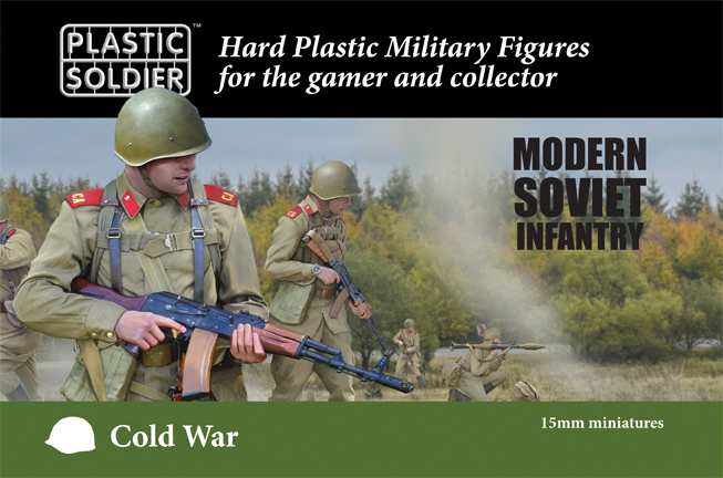 15mm Easy Assembly: Cold War Soviet Infantry Box Front