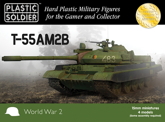 15mm Easy Assembly: T-55am2b Box Front