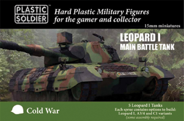 15mm Easy Assembly: Leopard 1 Box Front