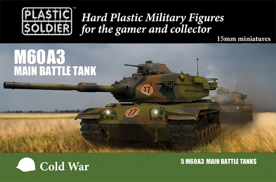 15mm Easy Assembly: M60a3 Box Front