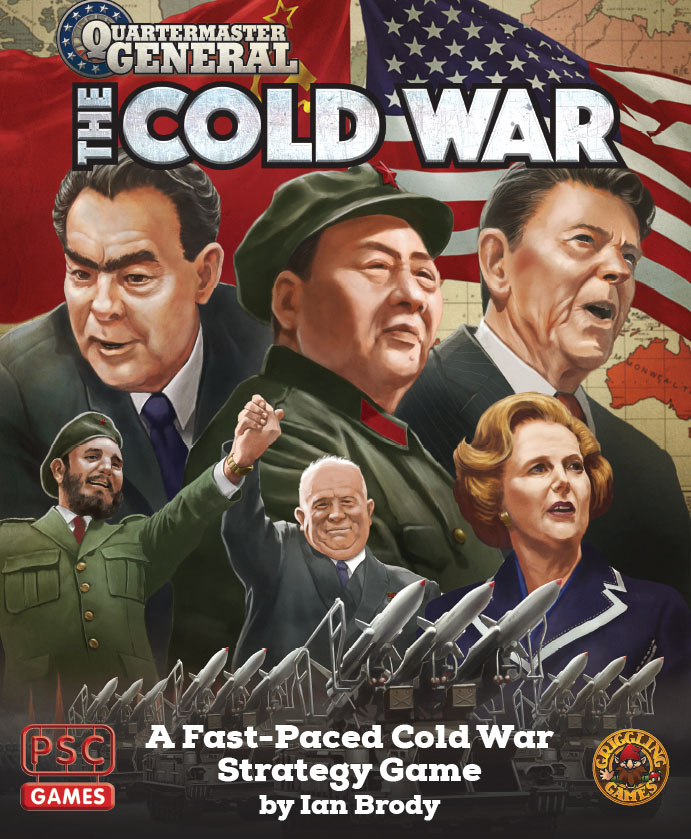 Quartermaster General: The Cold War Game Box